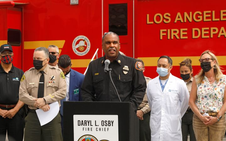 -Los Angeles Fire Chief Daryl Osbysaid the station has only four firefighters per shift and was considered a home by wo