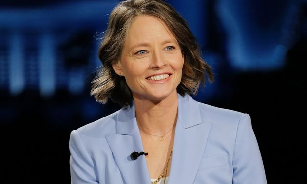 Jodie Foster, ici au mois de février 2021, sur le plateau de Jimmy