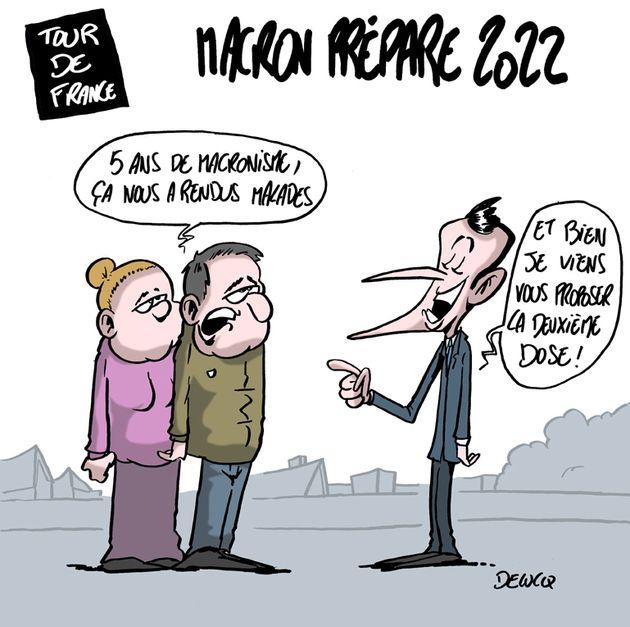 Comment Emmanuel Macron compte soigner les Français pendant son