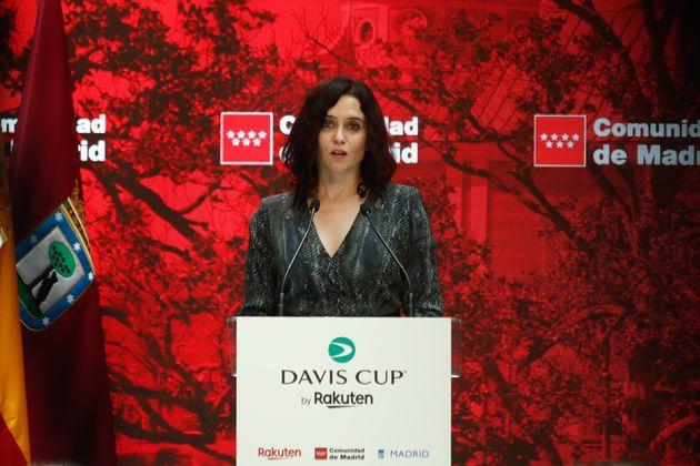 Presidenta de la Comunidad de Madrid, Isabel Díaz