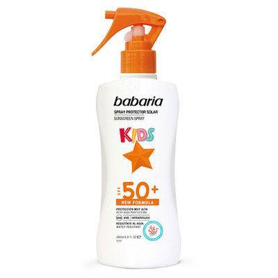 Babaria Sun Milk Spray Protector SPF50+ Kids
