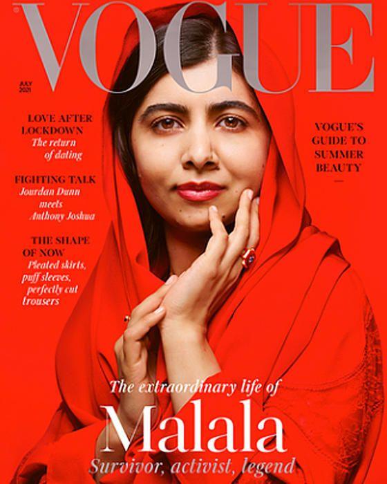 Vogue sceglie Malala, in copertina su edizione
