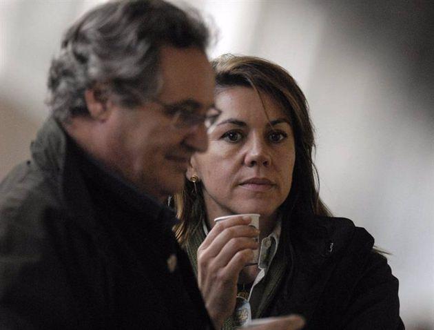 María Dolores De Cospedal y su marido, Ignacio López Del