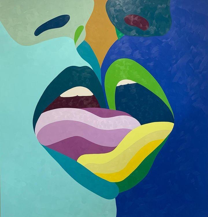 Una de las obras de Helen Beard.
