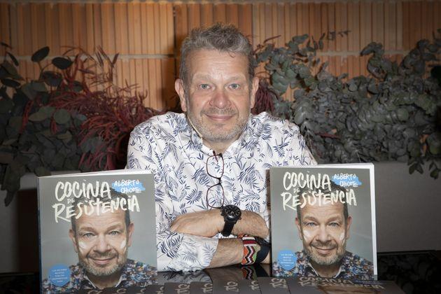 Alberto Chicote, durante la presentación de su libro 'Cocina de