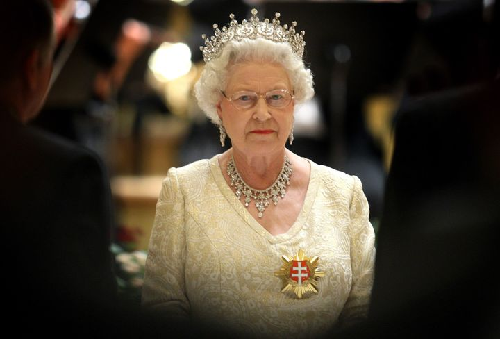 Queen Elizabeth II attends a State Banquet in Bratislava, Slovakia, in 2008. Documents uncovered by the Guardian reveal Bucki