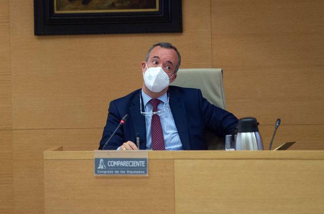 El ex secretario de Estado de Seguridad Francisco Martínez, el pasado 1 de junio en el