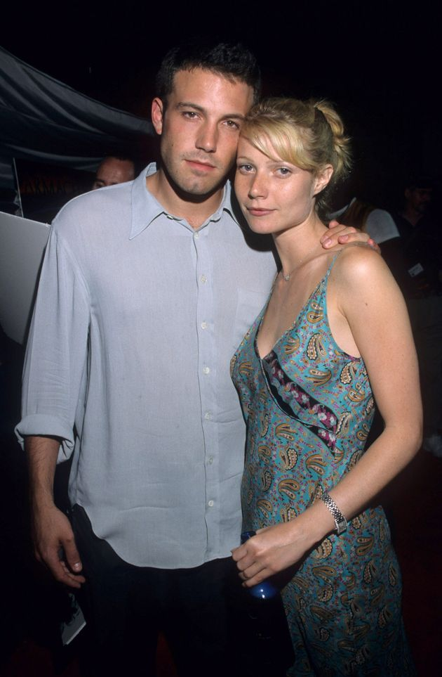 Ben Afleck and Gwyneth Paltrow at the premiere of