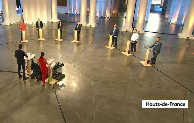 Le débat entre les sept candidats aux régionales dans les Hauts-de-France, le 2 juin