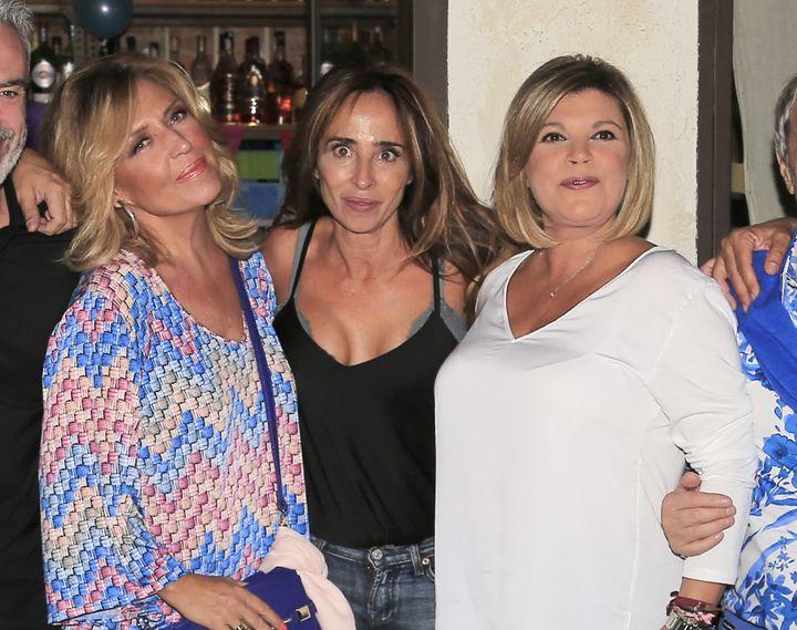 Lydia Lozano, María Patiño y Terelu Campos.