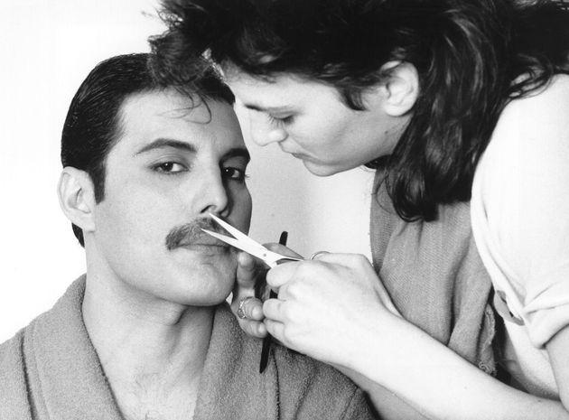 フレディ・マーキュリー。1982年撮影