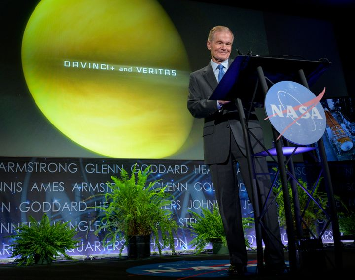 NASA Administrator Bill Nelson on Wednesday announced two new planetary science missions to Venus for the late 2020s called V
