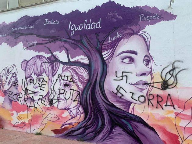 Imagen del mural de Baeza,