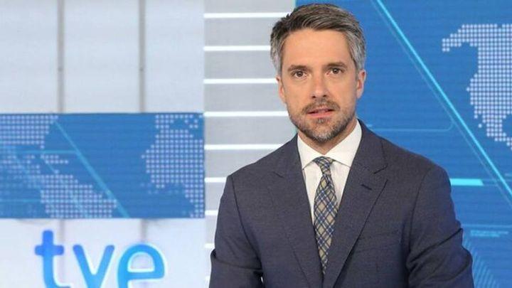 Carlos Franganillo, uno de los presentadores del Telediario de TVE.