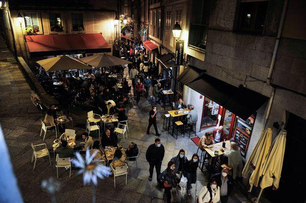 Ambiente en Ourense, el 22 de mayo de