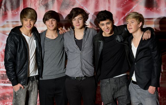 One Direction formed on The X Factor in