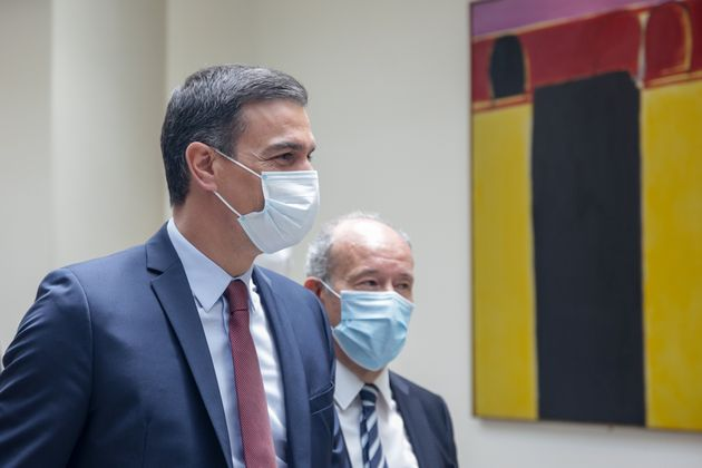 Pedro Sánchez y Juan Carlos