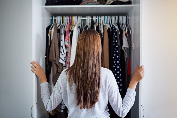 """Stylists say many clients are saying """"nothing fits!"""" as they return to the office. Here's the advice they give them."""