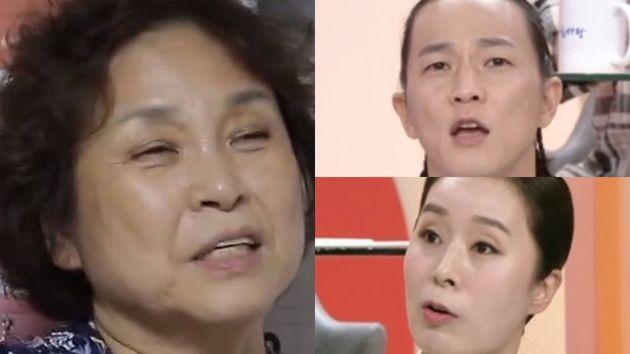 양혜자씨, 팝핀현준, 박애리(왼쪽부터 시계