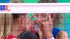 Volleyball player suspended for racist gesture against Thai opponents