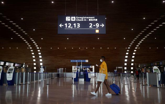 L'aéroport Charles-de-Gaulles à Paris le 2 avril
