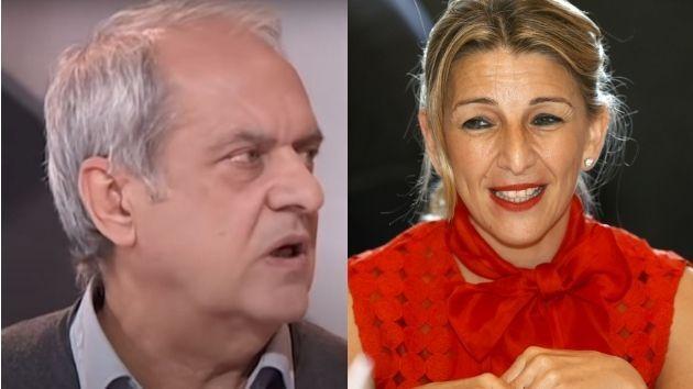 Javier Aroca y Yolanda