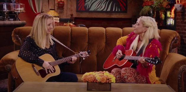 Lisa Kudrow and Lady Gaga teamed up for a duet on Smelly