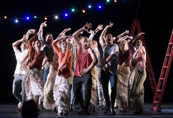 Una escena de 'Zarzuela en Danza'.