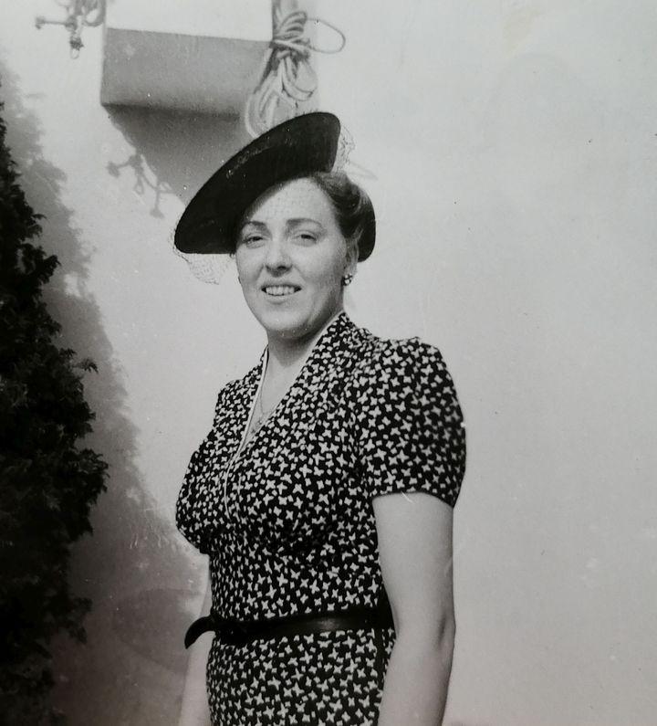 Η Αλεξάνδρα Μωρέτη στην Νέα Υόρκη το 1939