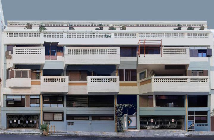 Πολυκατοικία στην οδό Δοξαπατρή 32