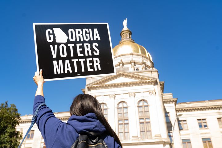More than a dozen bills that restrict voting rights have already passed GOP legislatures this year in Georgia and other state