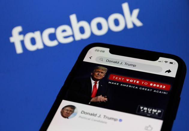 Το Facebook αναστέλλει τον λογαριασμό του Ντόναλντ Τραμπ για δύο