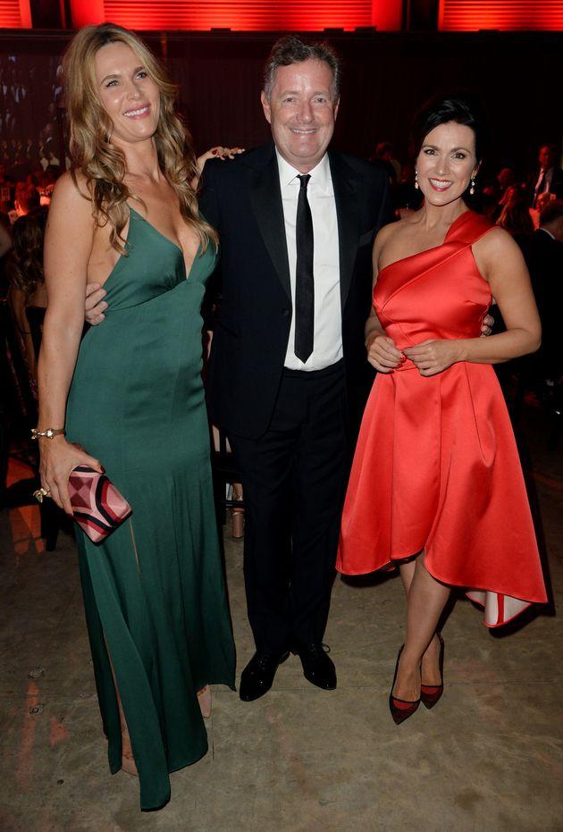 Celia Walden, Piers Morgan and Susanna