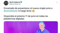 Las respuestas a este tuit de Bertín Osborne presentando su nueva canción son lo mejor que verás
