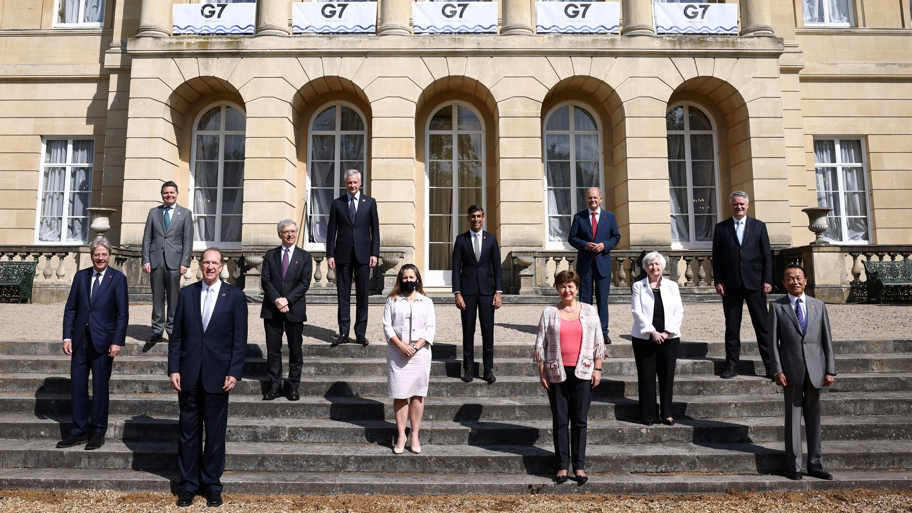 G-7 Nations Sign Pact To Make Corporations Pay Fairer Taxes