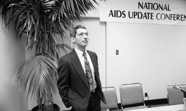Dr. Anthony Fauci attends the National AIDS Update Conference as it meets at the San Francisco Civic...