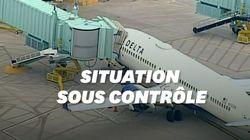 Un passager maîtrisé en plein vol aux États-Unis après avoir voulu forcer le
