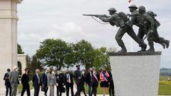 Pour les 77 ans du Débarquement, un mémorial britannique inauguré dans le