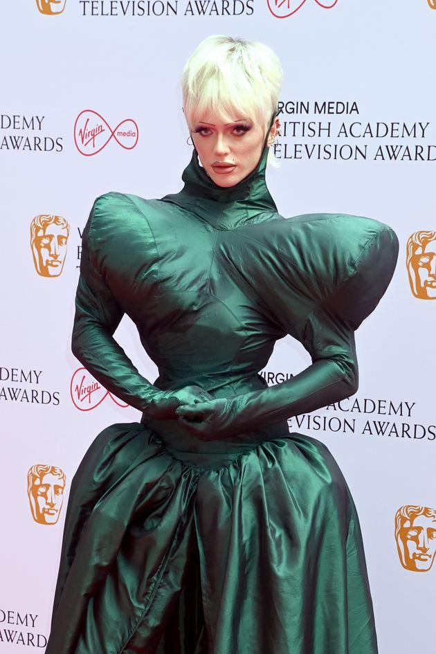 LONDON, ENGLAND - JUNE 06: Bimini Bon Boulash attends the Virgin Media British Academy Television Awards...