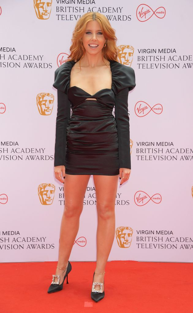 LONDON, ENGLAND - JUNE 06: Stacey Dooley arrives at the Virgin Media British Academy Television Awards...