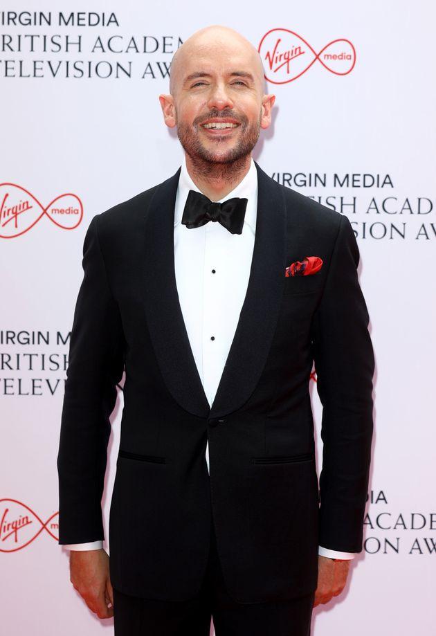 LONDON, ENGLAND - JUNE 06: BAFTA interview host, Tom Allen attends the Virgin Media British Academy Television...