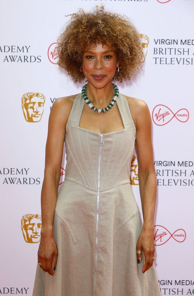 LONDON, ENGLAND - JUNE 06: Sophie Okonedo attends the Virgin Media British Academy Television Awards...
