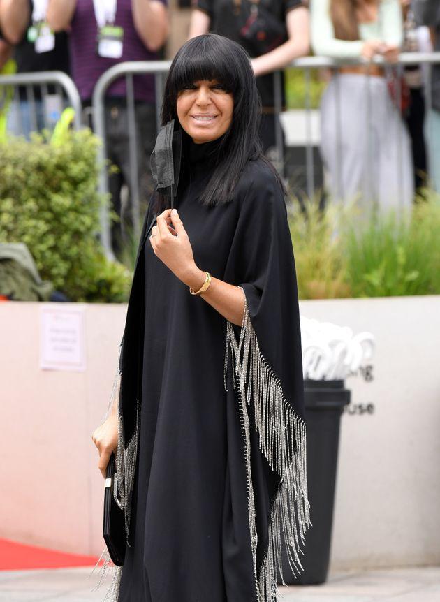 LONDON, ENGLAND - JUNE 06: Claudia Winkleman arrives for the Virgin Media Bafta TV Awards at Television...