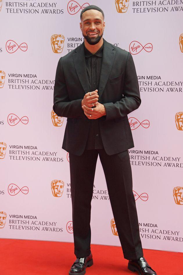 LONDON, ENGLAND - JUNE 06: Ashley Banjo arrives at the Virgin Media British Academy Television Awards...