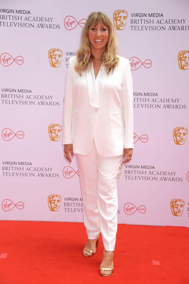 LONDON, ENGLAND - JUNE 06: Daisy Haggard arrives at the Virgin Media British Academy Television Awards...