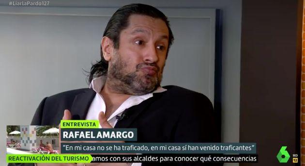 Rafael Amargo, en 'Liarla Pardo'
