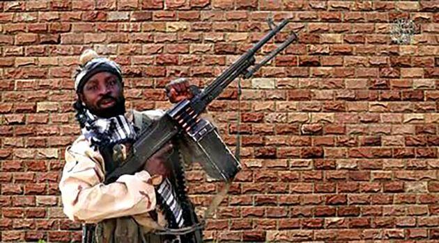 Abubakar Shekau dans une vidéo datant du 15 janvier 2018 (Photo by Handout / BOKO HARAM /