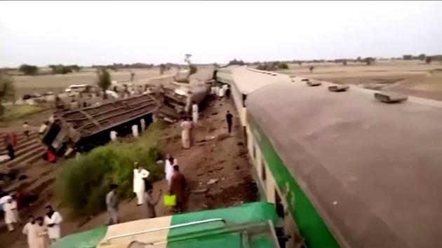 Σιδηροδρομικό δυστύχημα στο