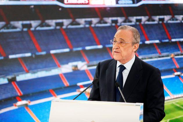 Florentino Pérez, presidente y principal promotor de la