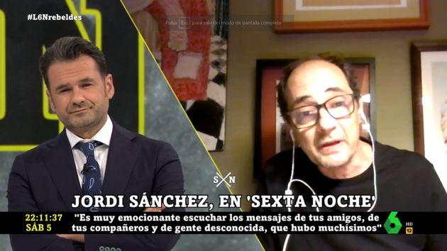Jordi Sánchez en 'laSexta